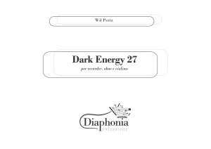 DARK ENERGY 27 per recorder, oboe e violino [DIGITALE]